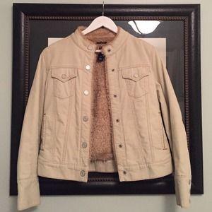 FINAL REDUCTION Corduroy GAP Jacket w/Fuzzy Lining