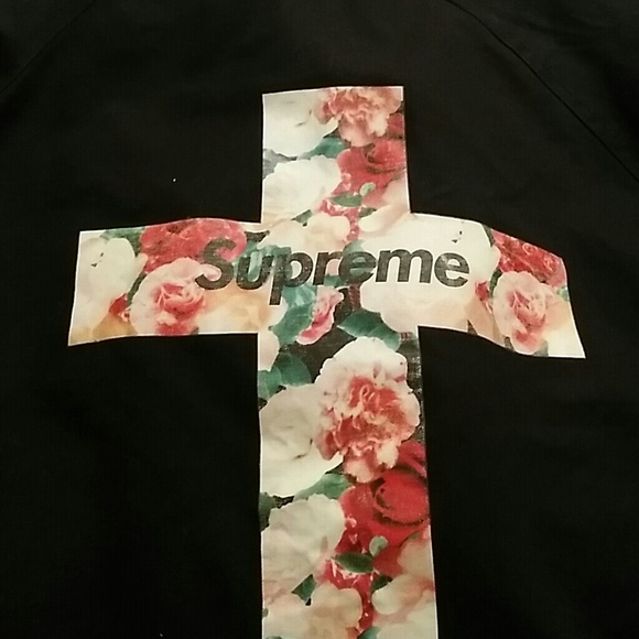 Supreme Floral Cross Shirt