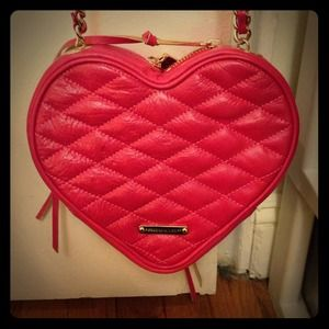Rebecca minkoff heart shaped purse!