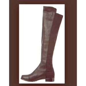 Aldo Over Knee Leather Boots 