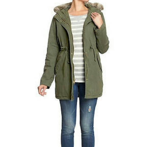 80% off Old Navy Outerwear - Old Navy green light parka small from ...