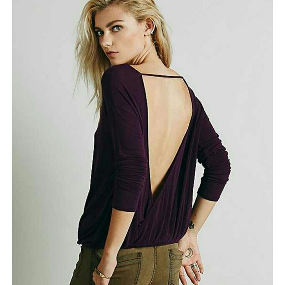 de34056b048ee Free People Tops - Free People Host Pick!! 😄 open back top.