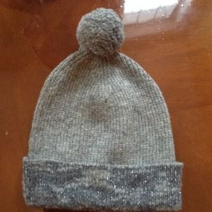New gray& silver hat