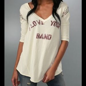 We The Free I Love Your Band Tee