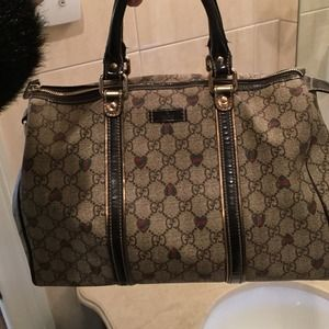 "Gucci ""speedy bag"" limited heart edition Authentic"