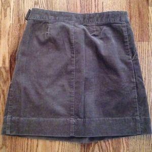 2bd9afecd5a Lands  End Skirts - Lands  End Canvas Brown Corduroy Mini Skirt ...