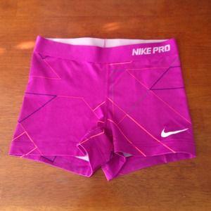 Nike Pants - Purple Nike Pro Soandex