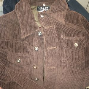 Brown Dolce & Gabbana Jacket