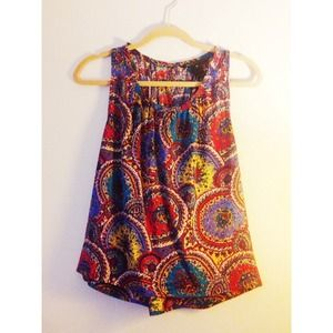 Marc Jacobs Tops - [Marc Jacobs]paisley tank