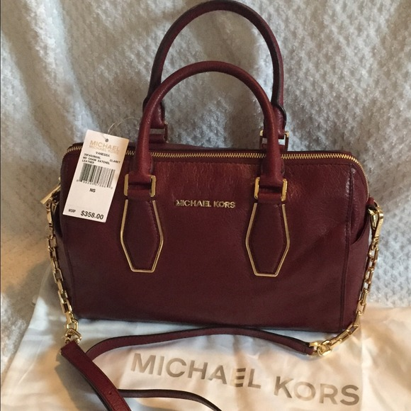 b220f6870013 MICHAEL Michael Kors Bags | Michael Kors Vanessa Chain Satchel ...