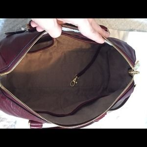 477a62a53279 MICHAEL Michael Kors Bags - Michael Kors Vanessa chain Satchel Claret Gold
