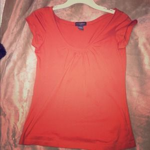 Banana Republic orange top