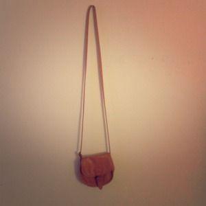 Small messenger bag.