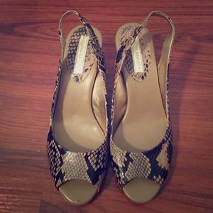 Banana Republic - strap/peep toe heels