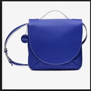 Kate Spade Saturday Blue Leather Crossbody
