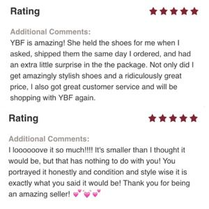 Vintage Bags - @ybf's Seller Stats & Reviews