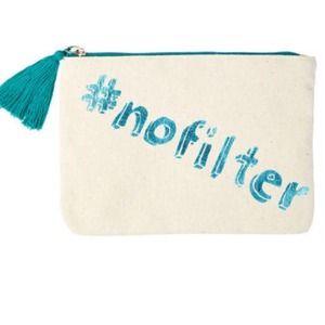 #nofilter makeup zip bag