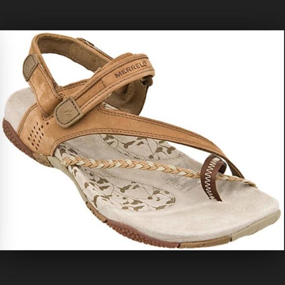 c0b8678bdaa0 Merrell Sienna sandals in brown. M 54aabf6672cb8c40fc2e49f6