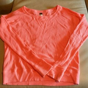 Free people hot pink thermal