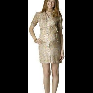 Rosie Pope Dresses & Skirts - SALE! Darling silk shirt dress. Maternity!