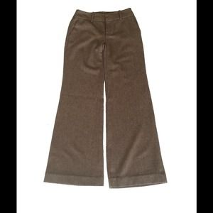 Size 8 Zara Brown Tweed Pants