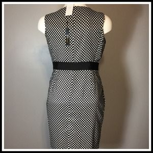 BCBGMaxAzria Dresses - Black/White Polka Dot Dress