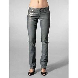 Rich & Skinny Denim - Rich and Skinny Waxie Grey Denim