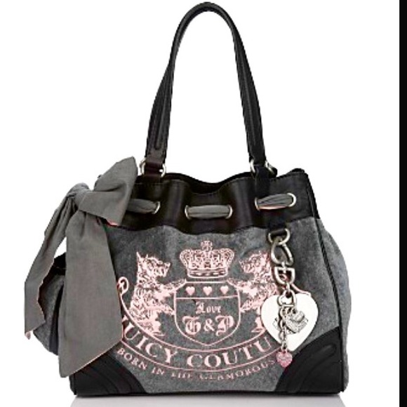 Juicy Couture Bags | Velour Heritage Crest Daydreamer ...