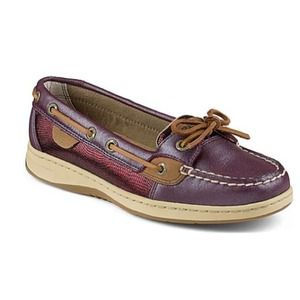 "Sperry Top-Sider Shoes - SPERRY ""Angelfish"" Metallic Foil Boat Shoe"