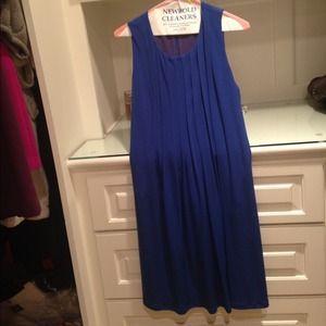 Royal Blue Calvin Klein Shift Dress