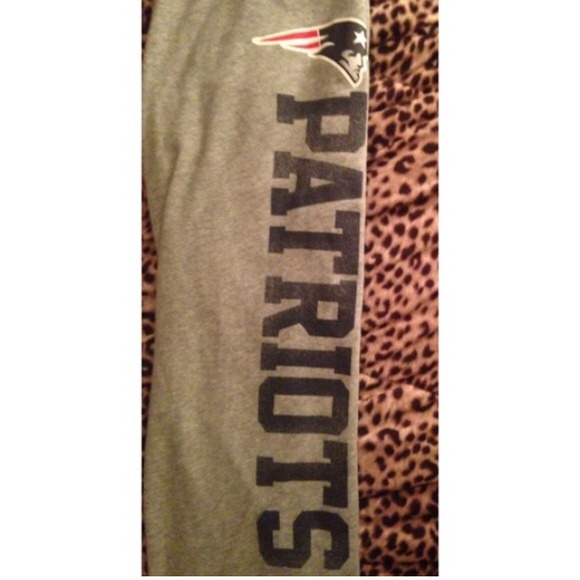 dcdf5537acc80 VS PINK New England Patriots Sweatpants