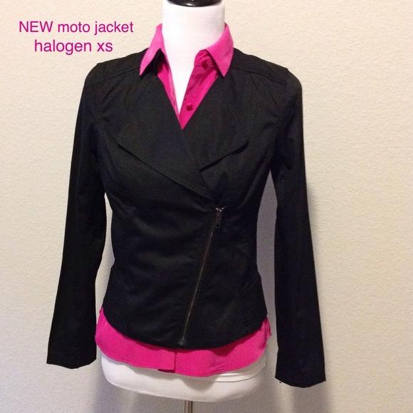 Halogen Jackets & Coats - NEW moto style jacket. Halogen (Nordstrom) sz XS