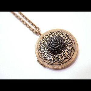 C. Wonder Vintage Zodiac Locket Necklace