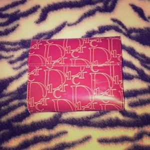 Christian Dior red wallet❌SOLD❌