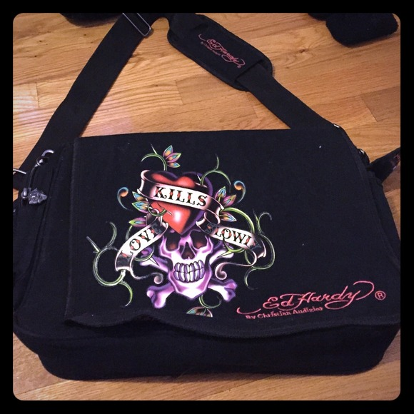 7cc1585de53 Ed Hardy Bags   Laptop Travel Bag   Poshmark