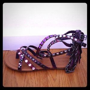 Shoes - Purple sandals
