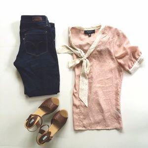 Jason Wu blouse - Jason Wu Target pink