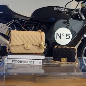Newest Chanel Additions ! Jumbo Flap and Le Boy