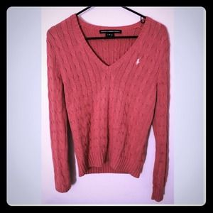 Ralph Lauren Pink Sweater
