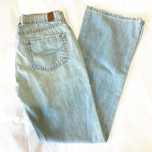 Abercrombie & Fitch Slightly Distressed Jeans