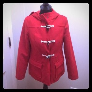 Red Coat by Old Navy