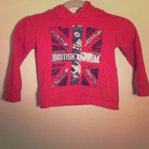 Other - British Anthem Hoodie for Toddlers