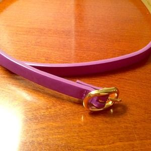 J.Crew Purple Belt size Medium