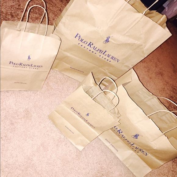 d3a12aaa4267 Polo Ralph Lauren Gift Shopping Bags👜. M 54a8addde84b0331b01dbc98