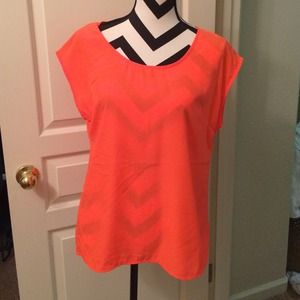 Old Navy Tops - Old navy orange Blouse
