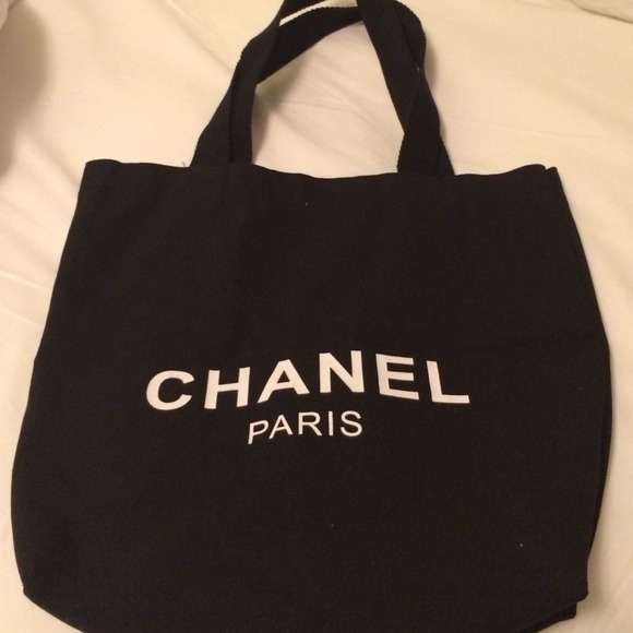 bfe179cc97d211 Accessories   New Vip Chanel Canvas Tote Bag   Poshmark