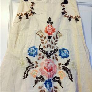 Anthropologie skirt. Size medium