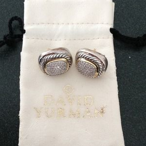 David Yurman ear rings