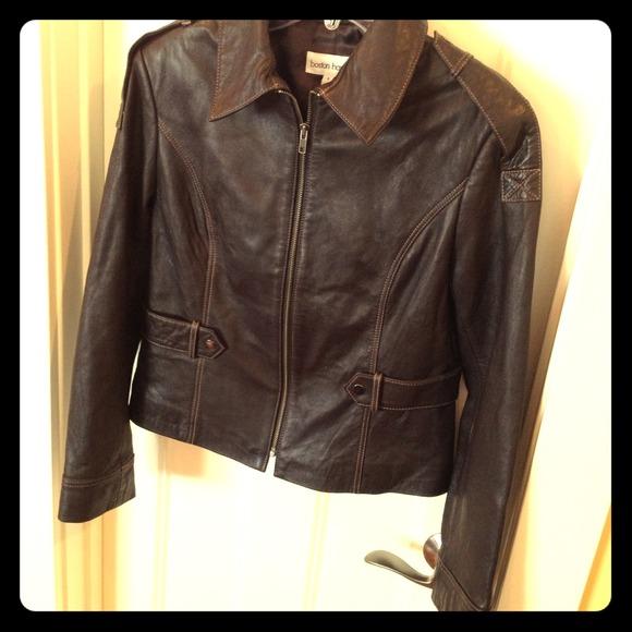 Boston harbor leather jackets