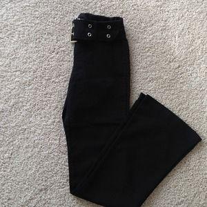Pants - 🔴3 for $20🔴Black dress pants with built in belt